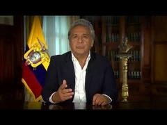 Saludo del Presidente Lénin Moreno- Aniversario 145 OAQ